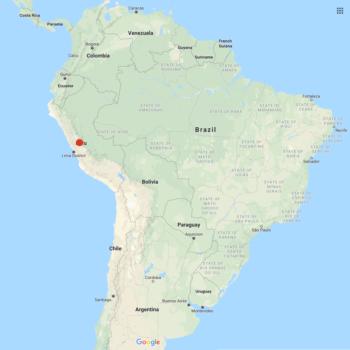 Solanum acroglossum distribution map