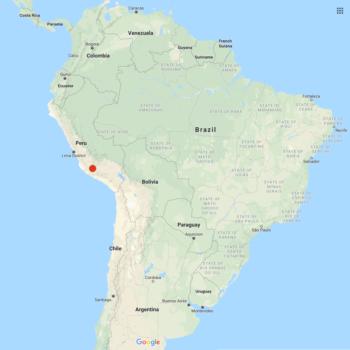 Solanum acroscopicum distribution map