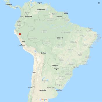 Solanum burkartii distribution map