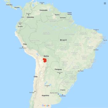 Solanum gandarillasii distribution map