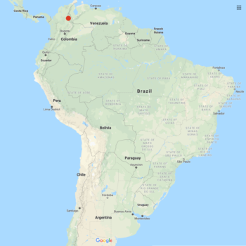 Solanum garcia-barrigae distribution map
