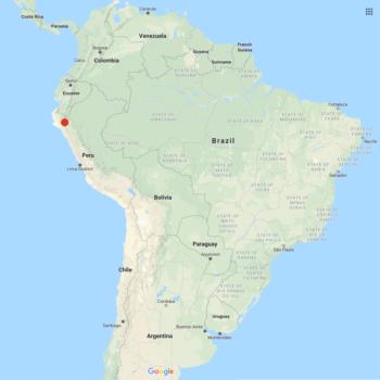 Solanum huancabambense distribution map